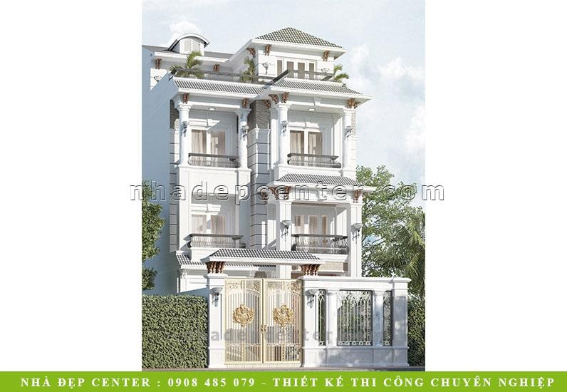 Biệt Thự Phố Cổ Điển 4 Phòng Ngủ | Cô Hợi | BT-118
