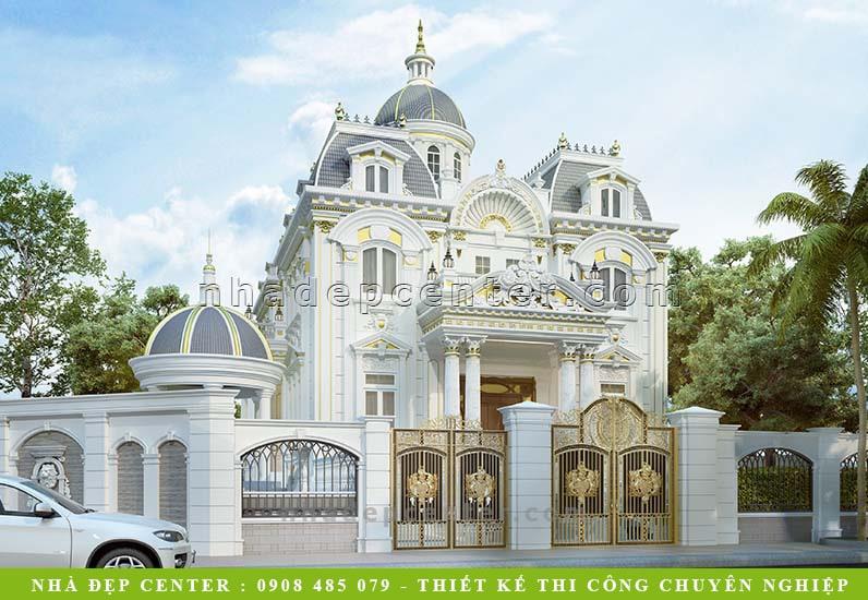Biệt Thự Cổ Điển Lâu Đài Pháp | Mái Vòm | Chị Kim Anh | BT-157