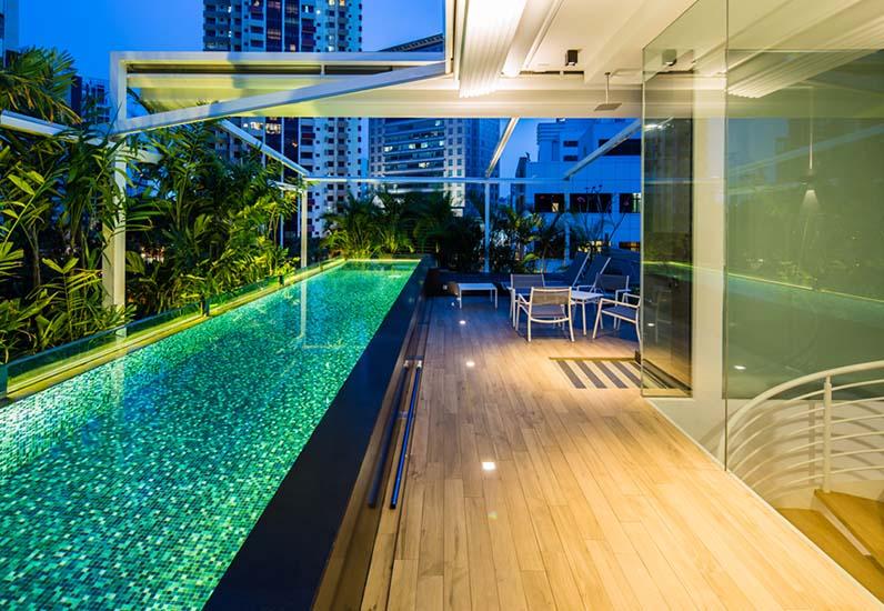 Biệt Thự Vườn Có Hồ Bơi Sân Thượng | BT-117