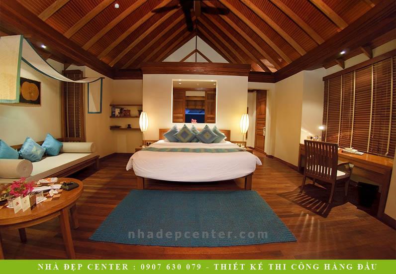 Mẫu Resort 5 Sao Sang Trọng Miền Nhiệt Đới | NT-168