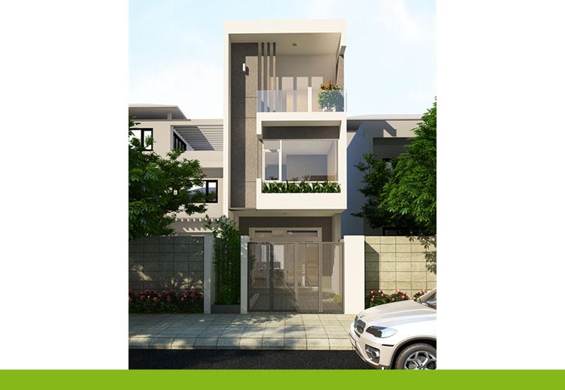 Mẫu Nhà Phố Đẹp Thiết Kế 150 Triệu | NP-140
