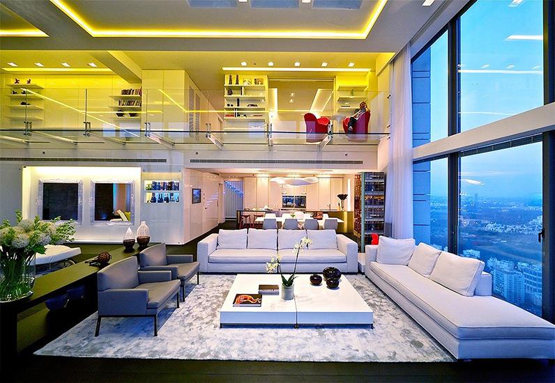 Mẫu Penthouse Với Nội Thất Sang Trọng Đẳng Cấp | NT-181