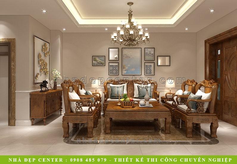 Nội Thất Biệt Thự 4 Phòng Ngủ Đẹp | Cô Hợi | NT-101