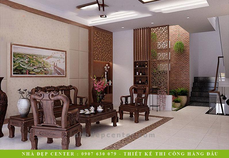 Mẫu Nội Thất Nhà Phố Phong Cách Hiện Đại | Anh Hoàng | NT-183