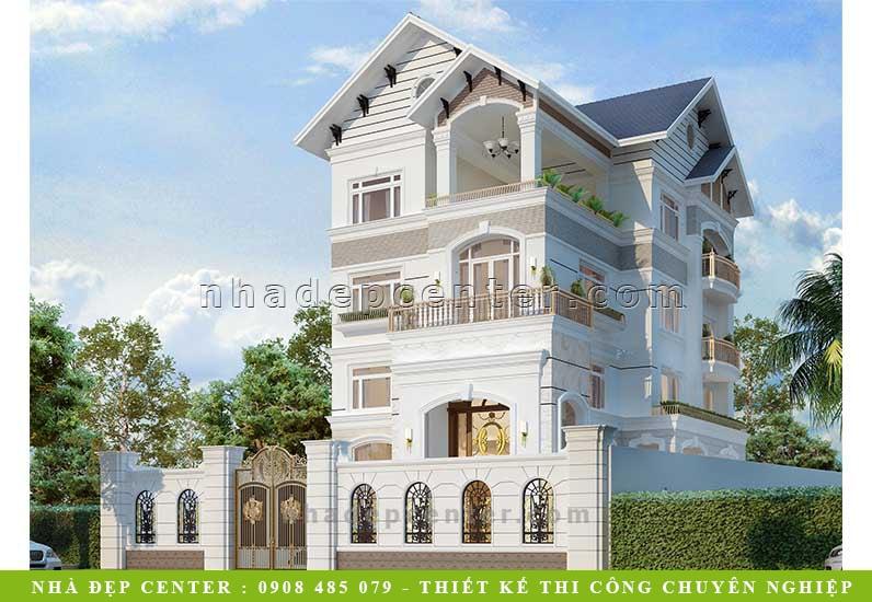 Biệt Thự Tân Cổ Điển 3 Tầng | Hướng Đông | Anh Thảo | BT-147