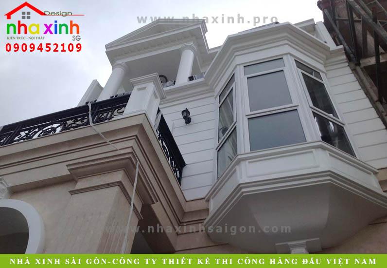 Nhà Phố Cổ Điển 5m Có Tầng Hầm | NP-162